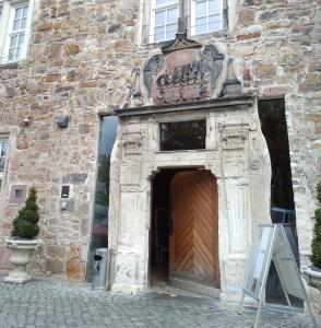 Eingang Renthof in Kassel